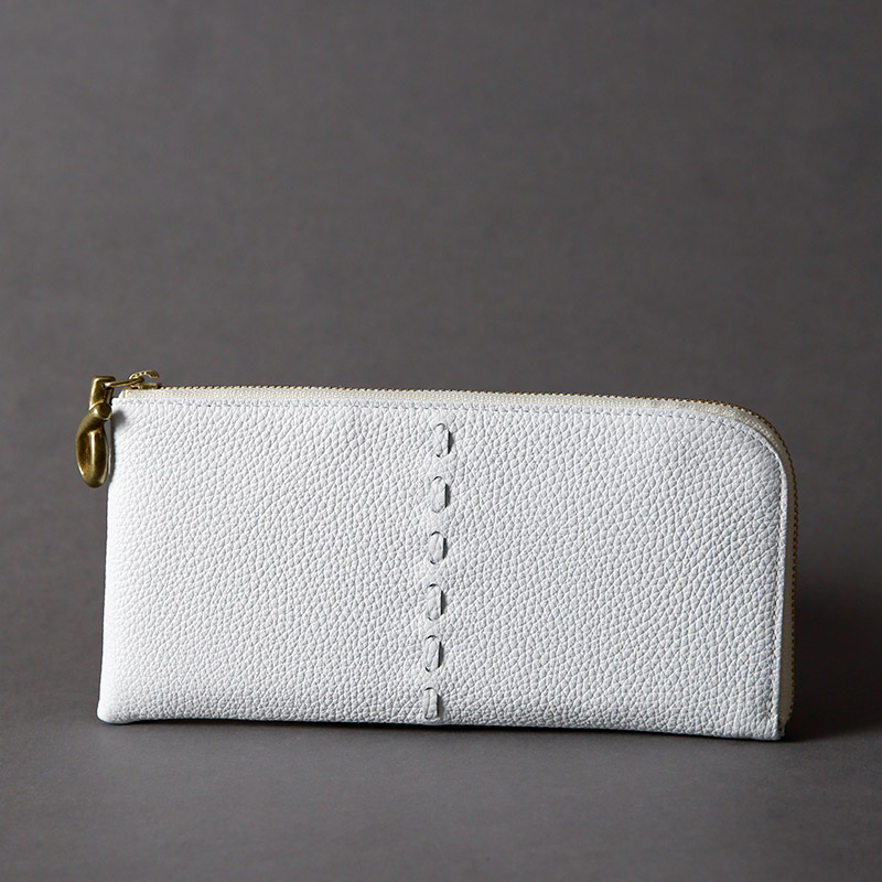L-SHAPED FASTENER WALLET / L字ファスナー長財布